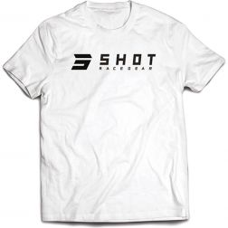 TEE-SHIRT HOMME SHOT WHITE TEAM 2.0