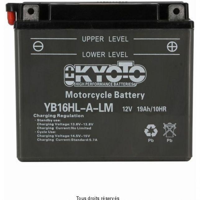 Batterie KYOTO YB16HL-A-LM avec entretien