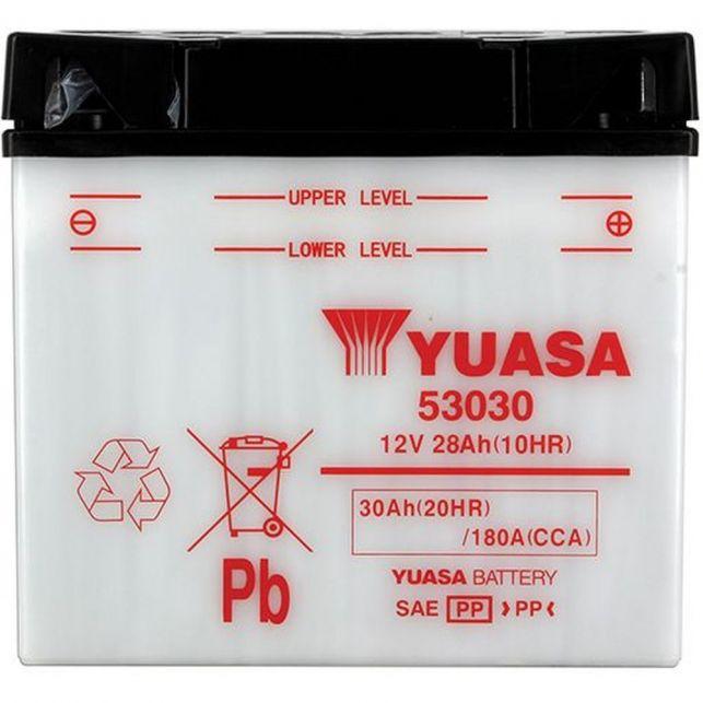 Batterie YUASA 53030 avec entretien