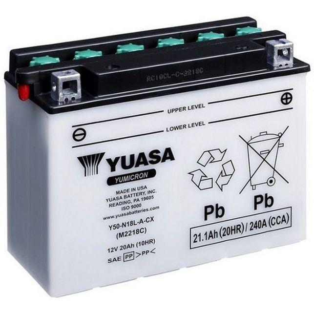 Batterie YUASA Y50-N18L-A-CX avec entretien