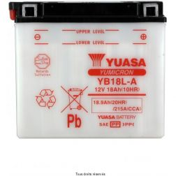 Batterie YUASA YB18L-A avec entretien