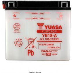 Batterie YUASA YB18-A avec entretien