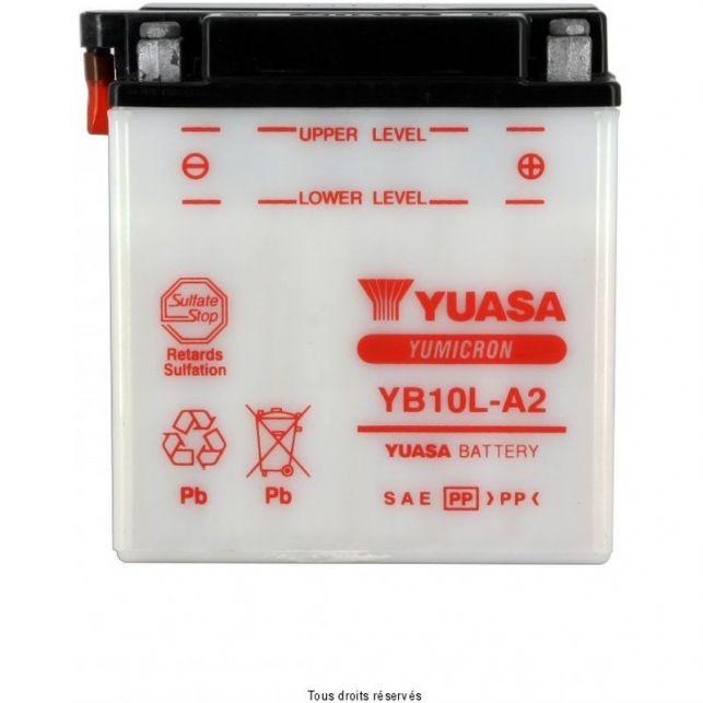 Batterie YUASA YB10L-A2 avec entretien