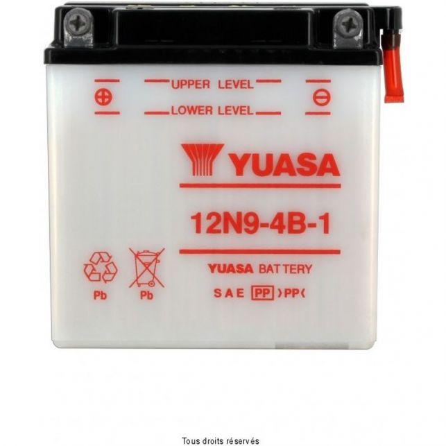 Batterie YUASA 12N9-4B-1 avec entretien