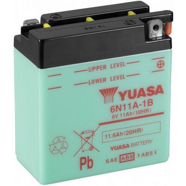 Batterie YUASA 6N11A-1B  avec entretien