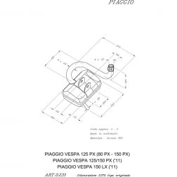 LIGNE COMPLETE LEOVINCE SITO ACIER 0231