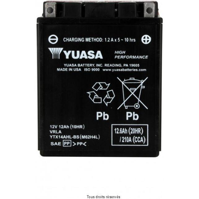 Batterie YUASA YTX14AHL-BS sans entretien