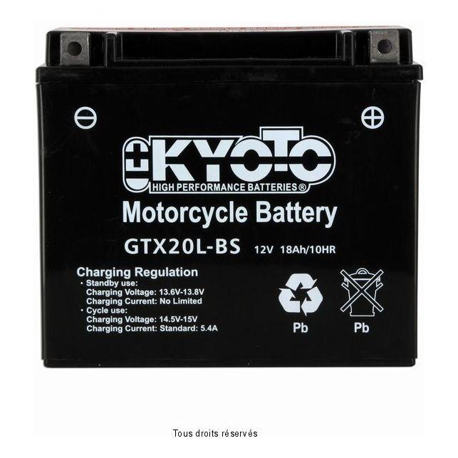 Batterie KYOTO YTX20L-BS sans entretien
