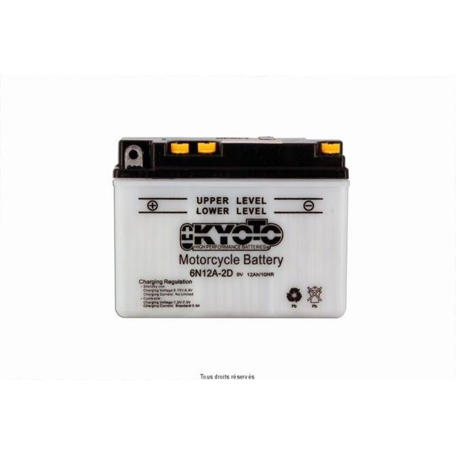 Batterie KYOTO 6N12A-2D avec entretien