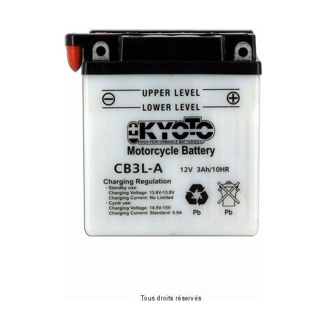 Batterie KYOTO YB3L-A avec entretien