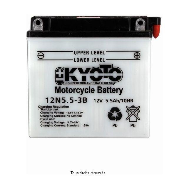 Batterie KYOTO 12N5.5-3B avec entretien