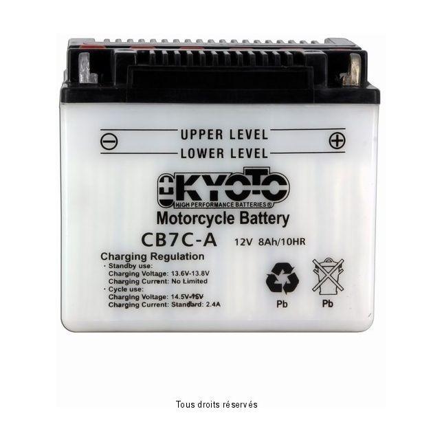 Batterie KYOTO YB7C-A avec entretien