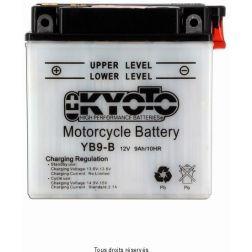 Batterie KYOTO YB9-B avec entretien