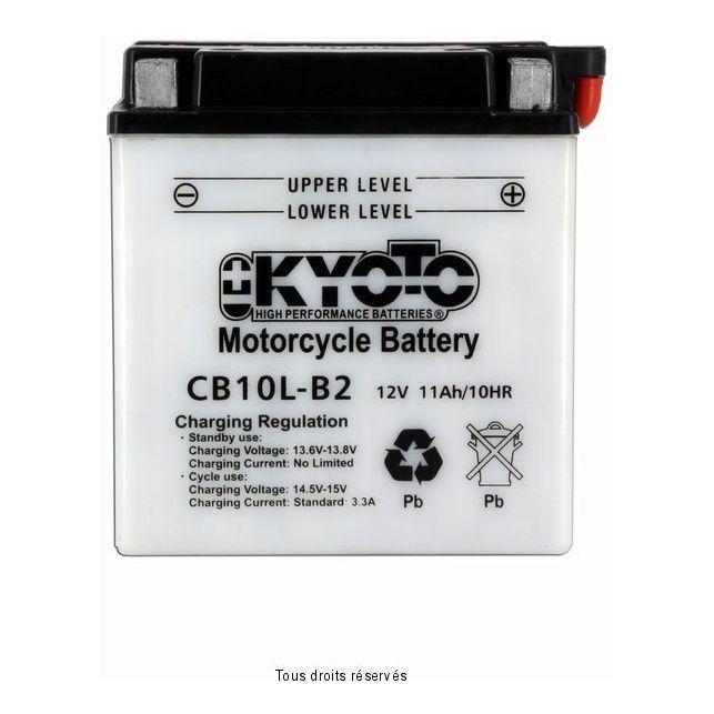 Batterie KYOTO YB10L-B2 avec entretien