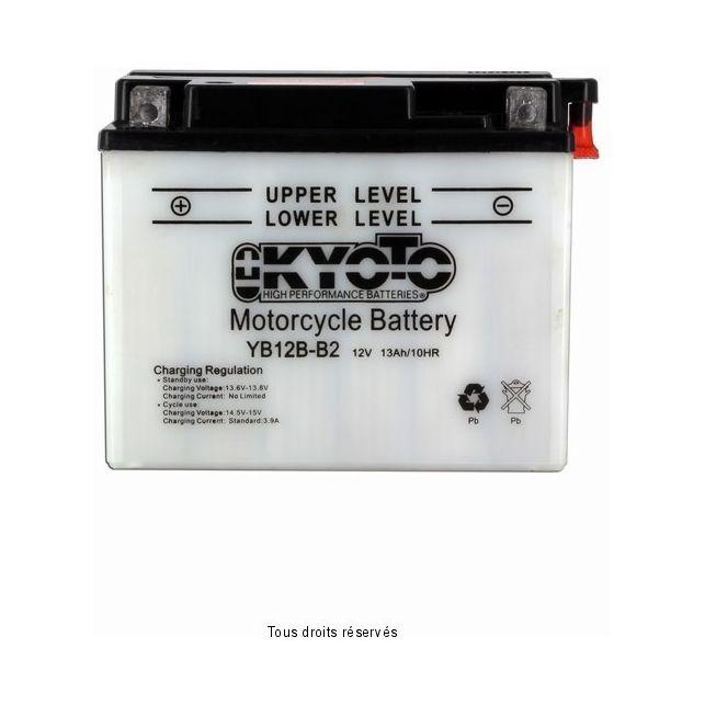 Batterie KYOTO YB12B-B2 avec entretien