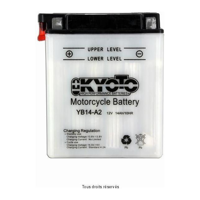 Batterie KYOTO YB14-A2 avec entretien
