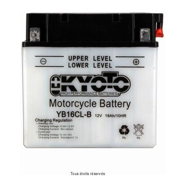 Batterie KYOTO YB16CL-B avec entretien