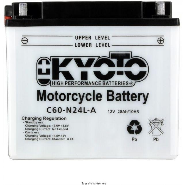 Batterie KYOTO Y60-N24L-A avec entretien