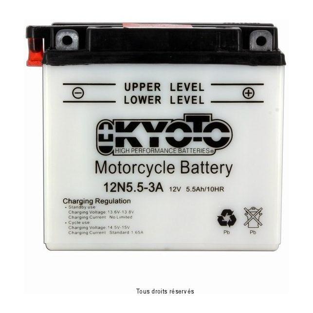Batterie KYOTO 12N5.5-3A avec entretien