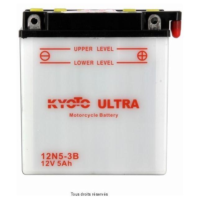 Batterie KYOTO 12N5-3B avec entretien