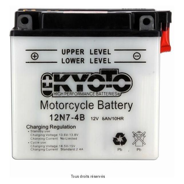 Batterie KYOTO 12N7-4B avec entretien