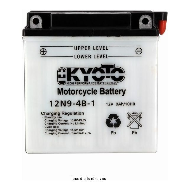 Batterie KYOTO 12N9-4B-1 avec entretien