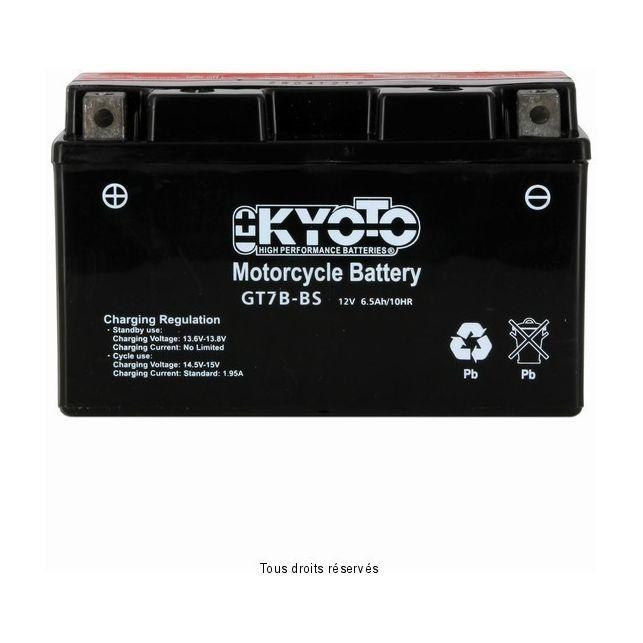 Batterie KYOTO YT7B-BS sans entretien