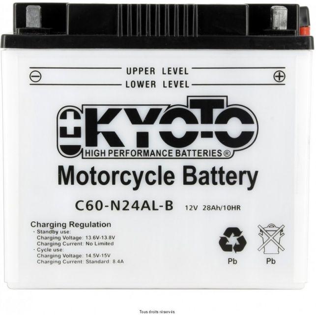Batterie KYOTO Y60-N24AL-B avec entretien