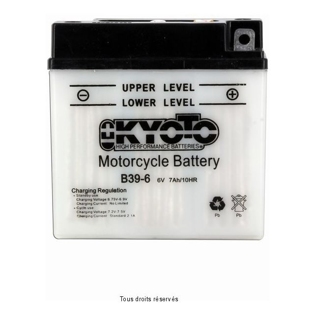 Batterie KYOTO B39-6 avec entretien