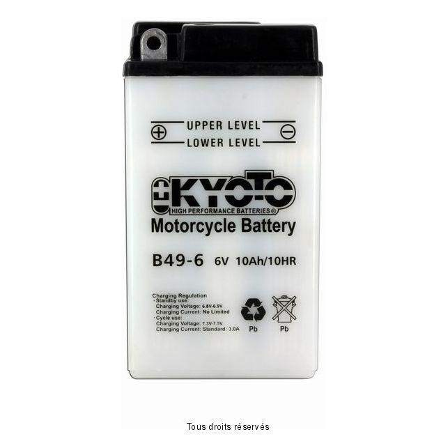 Batterie KYOTO B49-6 avec entretien