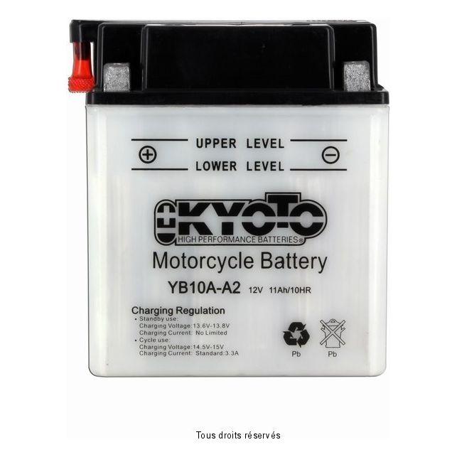 Batterie KYOTO YB10A-A2 avec entretien