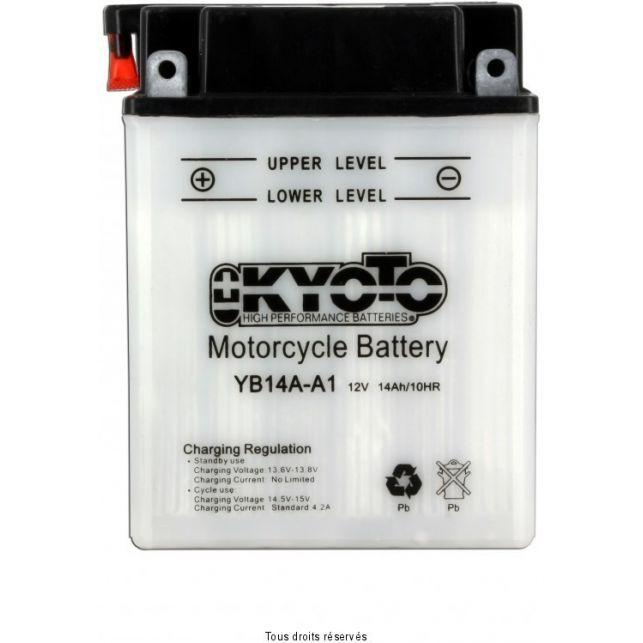 Batterie KYOTO YB14A-A1 avec entretien