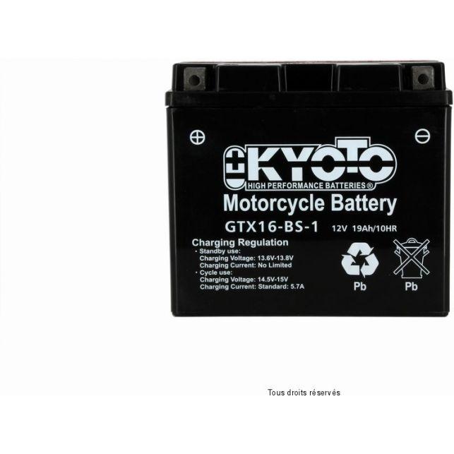 Batterie KYOTO YTX16-BS-1 sans entretien