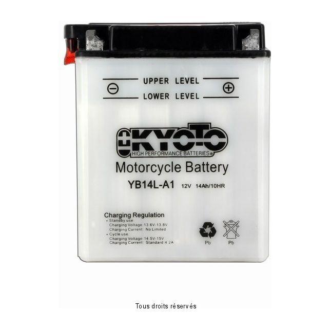 Batterie KYOTO YB14L-A1 avec entretien