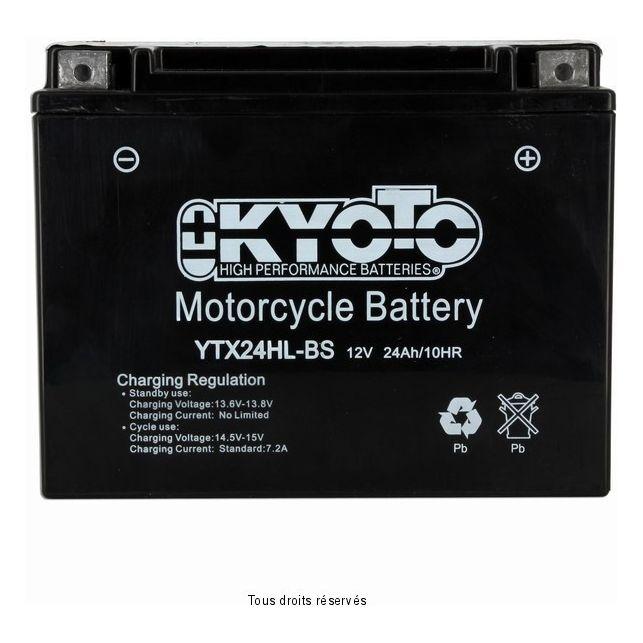 Batterie KYOTO YTX24HL-BS sans entretien