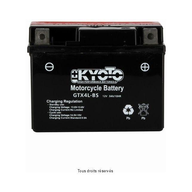 Batterie KYOTO YTX4L-BS sans entretien