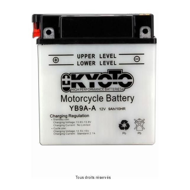 Batterie KYOTO YB9A-A avec entretien