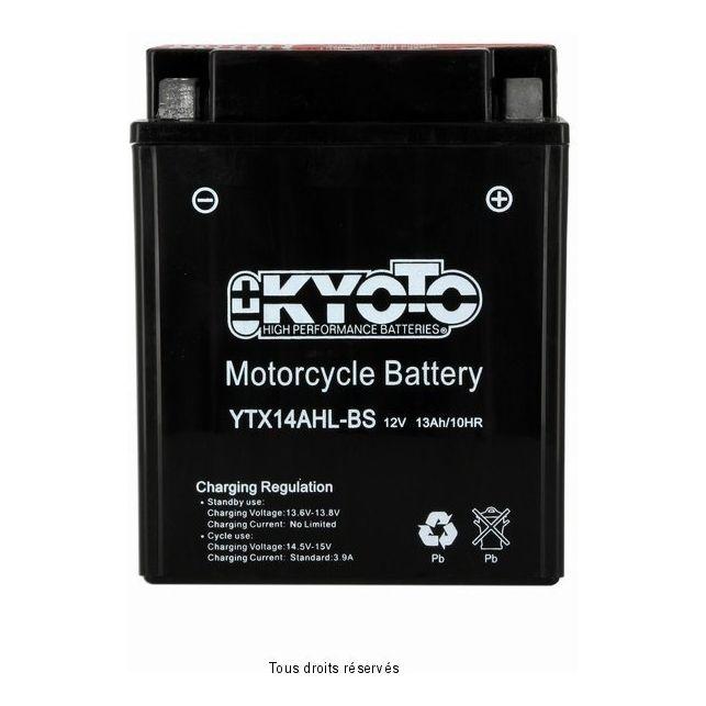 Batterie KYOTO YTX14AH-LBS sans entretien