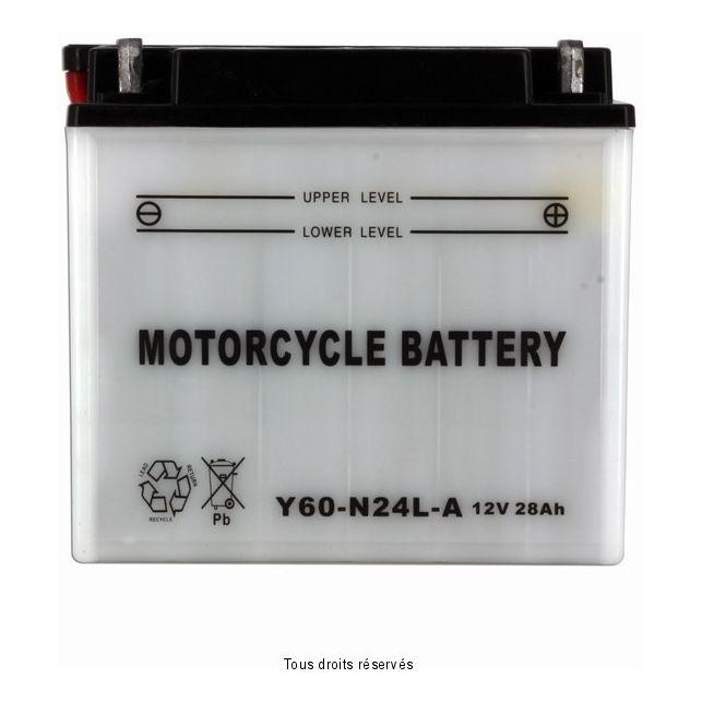 Batterie MOTORCYCLE BATTERY Y60-N24L-A avec entretien