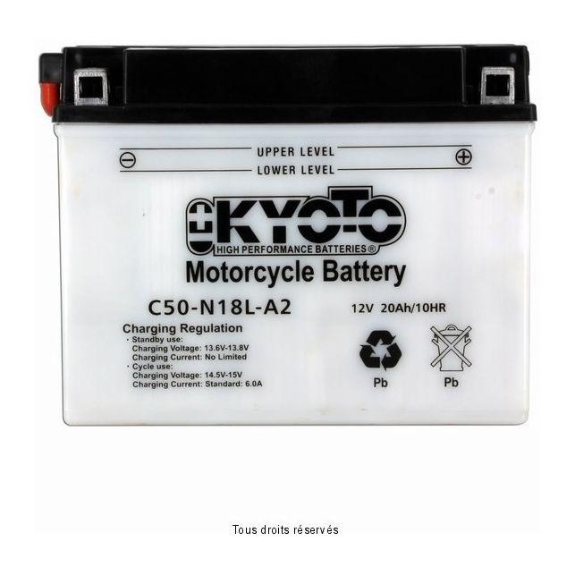 Batterie KYOTO Y50-N18L-A2 / LA avec entretien