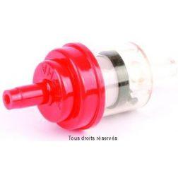 Filtre à essence Plastique KYOTO Rond Rouge Ø6mm