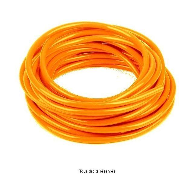 Durite KYOTO Orange Ø6mm X 6 Mètres
