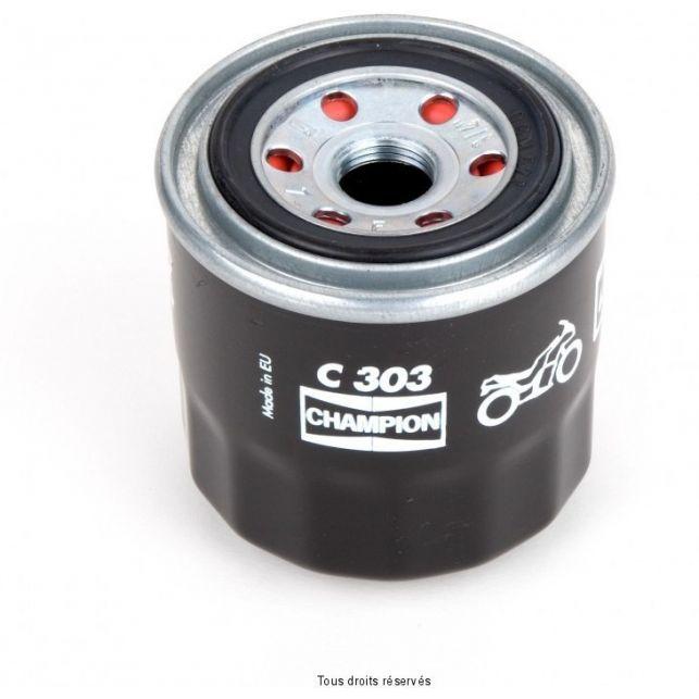 Filtre à huile CHAMPION 97C303 Suzuki-triumph