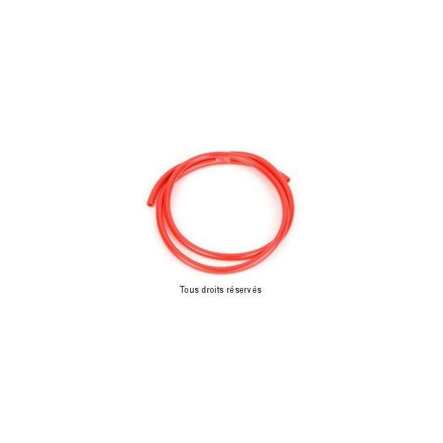 Durite SIFAM Rouge Ø4mm X 1 Mètre