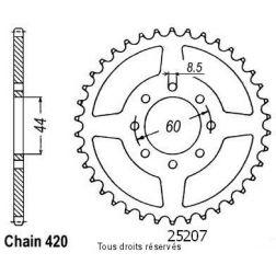Couronne 50 à boite 25207CZ52 pour 50 DTR/X-LIMIT
