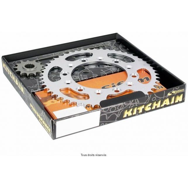 Kit chaine SIFAM Honda Cg 125 E Super Oring An 04 07 Kit 14 45