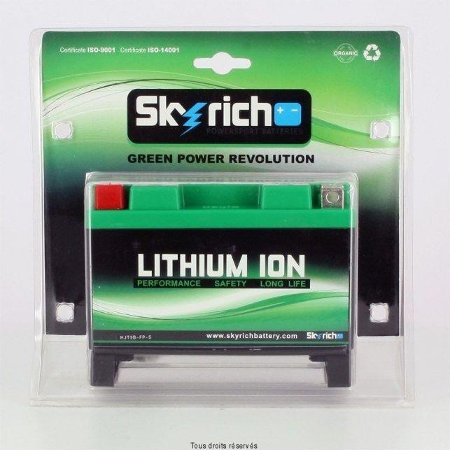 Batterie SKYRICH YT9B-BS / HJT9B-FP-S Lithium
