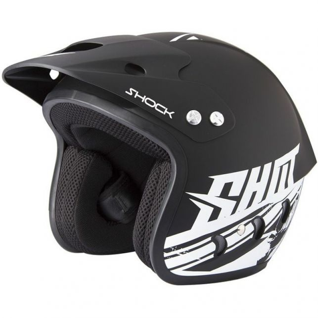 CASQUE QUAD JET SHOT SHOCK DECO